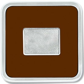 Monogrammed Zinc Square Coaster Weight Coaster