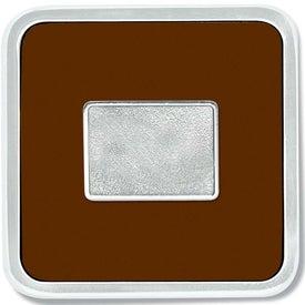 Monogrammed Zinc Square Coaster Weight Coaster