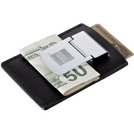 Zippo Spring Loaded Leather Money Clips