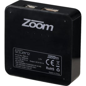 Zoom Energy Square Branded with Your Logo