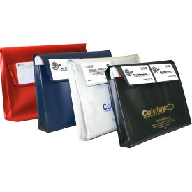 Gusseted Document Case