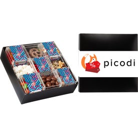 9 Piece Sweet Box Assorted Mix Gift Sets