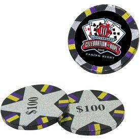 Chocolate Poker Chips