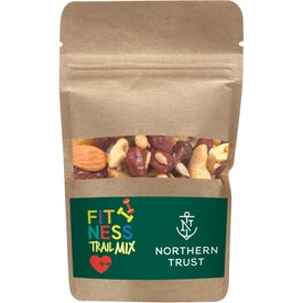 Resealable Bag with Fitness Trail Mix