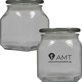 Medium Square Apothecary Jar