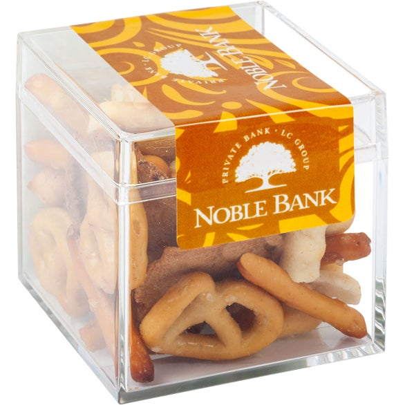 Clear Sweet Box with Gardetto Snack Mix