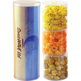 Three Tube Popcorn Stack