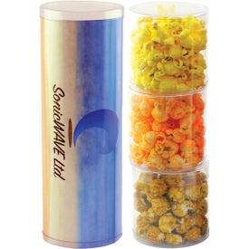 Three Tube Popcorn Stack