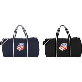 Cotton Weekender Duffel Bag