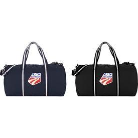 """Cotton 22"""" Weekender Duffel Bag"""