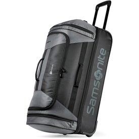 """28"""" Samsonite Andante 2 Drop Bottom Wheeled Duffel Bag"""