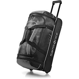 """32"""" Samsonite Andante Drop Bottom Wheeled Duffel Bag"""