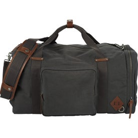 "Alternative 22"" Deluxe Cotton Weekender Duffel Bag"