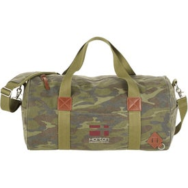 Alternative Basic Cotton Barrel Duffels