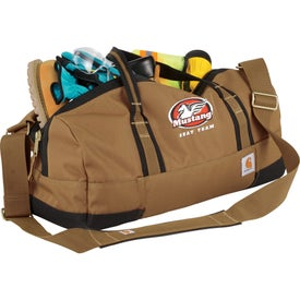 "Carhartt Signature Work Duffel Bag (20"" x 10.5"" x 10"")"