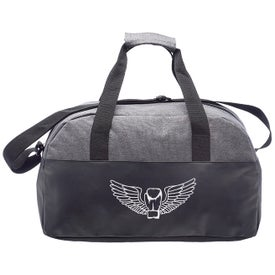 Executive Two-Tone Duffel Bag