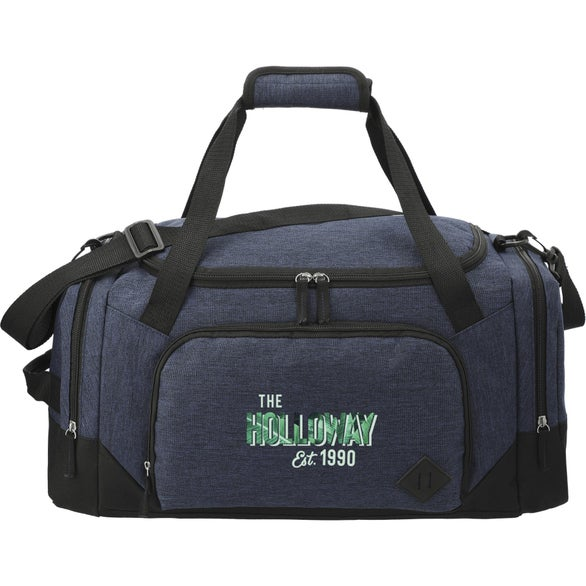 Charcoal Graphite Weekender Duffel Bag