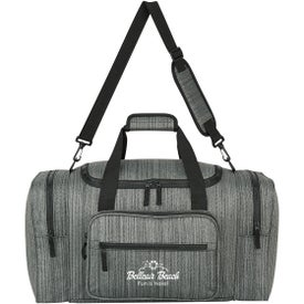 Heathered Duffel Bags