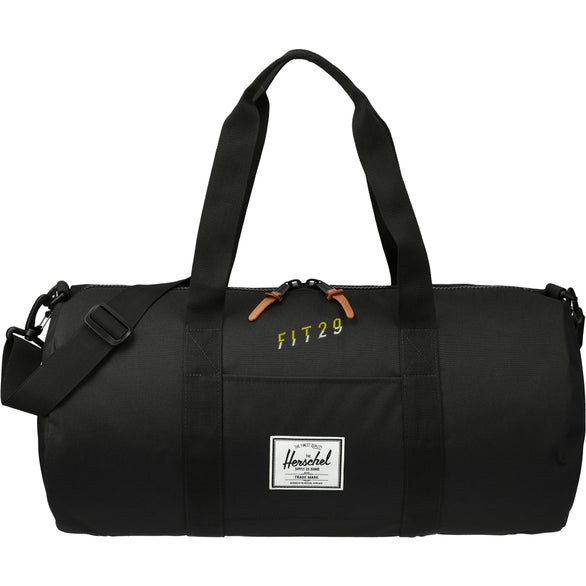 Black Herschel Sutton Mid-Volume Duffel