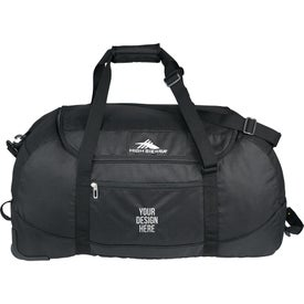 High Sierra Packable Wheel-N-Go Duffel