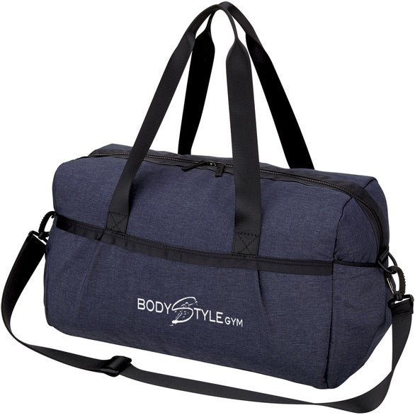 Navy Blue Performance Duffel Bag
