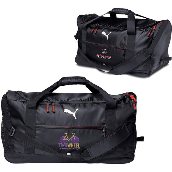 Black Puma Executive Duffel Bag