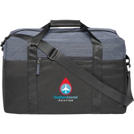"Two Tone Heather Duffel Bag (18"")"