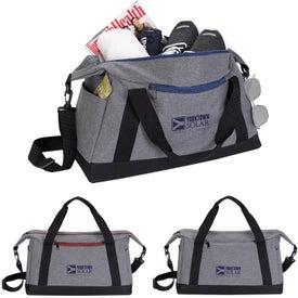 Two-Tone Sport Duffel Bag