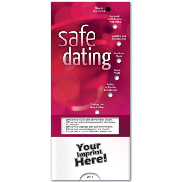 See Item Safe Dating Pocket Slider