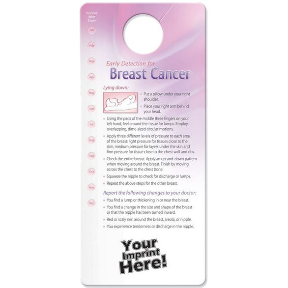 See Item Shower Card - Early Detection for Breast and Testicular Cancer