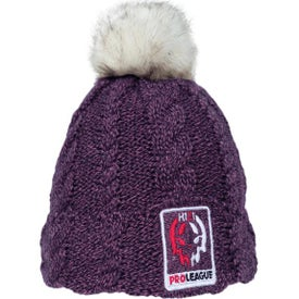 Beanies with Faux Fur Pom and Plush Lining (Unisex)