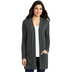 Port Authority Concept Long Pocket Cardigans (Women''s)