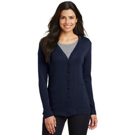 Port Authority Modern Stretch Cotton Cardigans (Women''s)