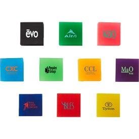Square Transparent Erasers
