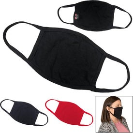 100% Cotton Face Mask (Black, Blue, and Red)