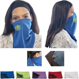 2 in 1 Face Cover Towel