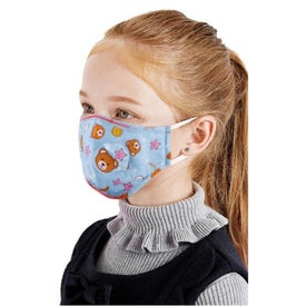 2 Layer Cotton Face Mask with Adjuster (Youth)