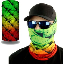 2-Layer Reusable Face Bandana Tube Mask
