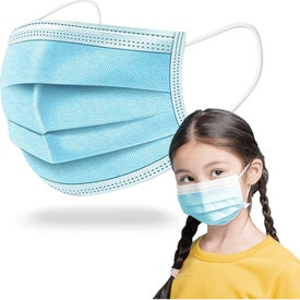 3-Ply Disposable Child Face Masks