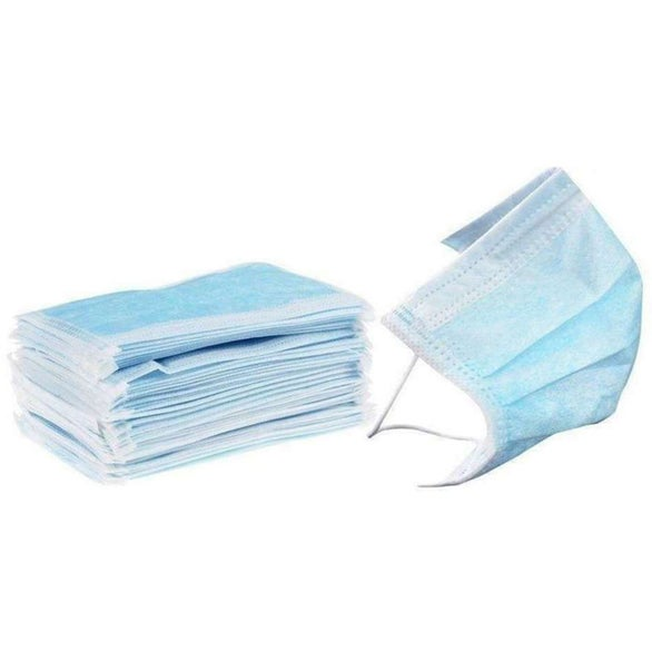 Light Blue 3-Ply Surgical Face Mask