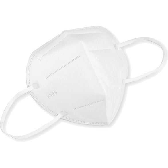 White KN95 Respiratory Protective Face Mask