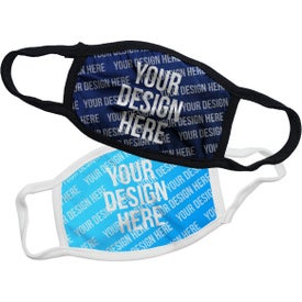 50/50 Polyester Cotton Sublimation Face Mask (Unisex)