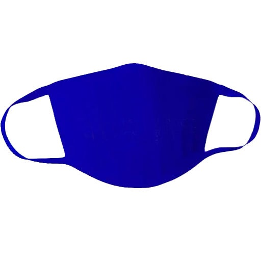 Royal Blue Lightweight Cotton Face Mask