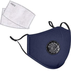 Cotton Face Masks with Valve