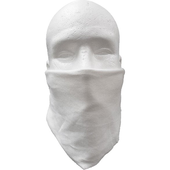 White Diamond TShirt Bandanna Mask