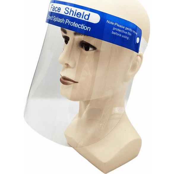 Clear Disposable Face Shield