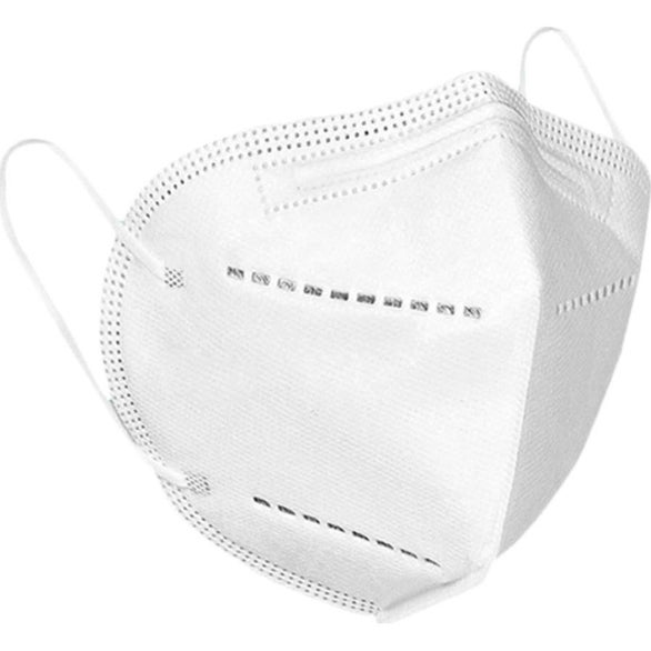 White Disposable FFP2 Face Mask