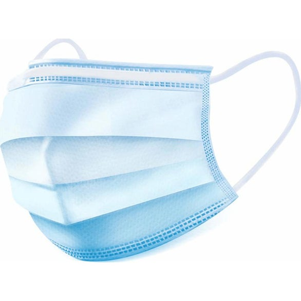 Blue Disposable Medical Face Mask