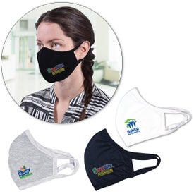 Double Layer Face Masks (Full Color Logo)