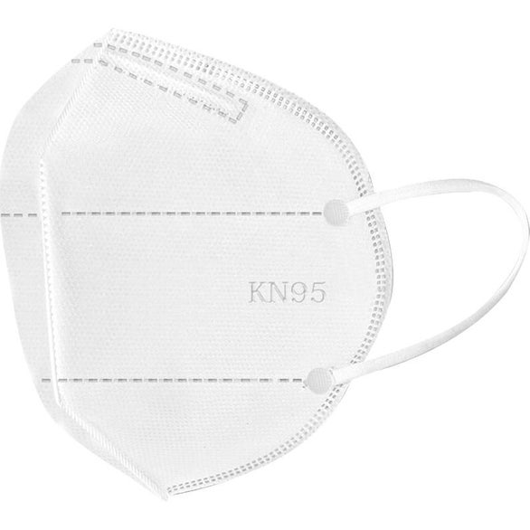 White Extra Protection KN95 Face Mask